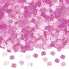 CONFETTI:PINK PARTY 40
