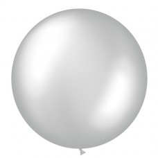 BALLOON 1m met:silver