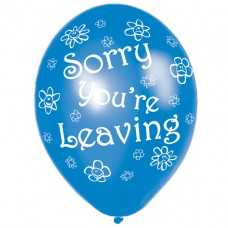 Sorry You're Leaving Latex Balloons