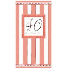 INVITE folded:40TH ANNIVERSARY