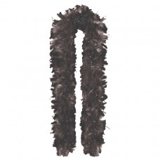 GNO FEATHER BOA 1.8m BLACK