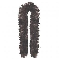 GNO FEATHER BOA 1.8m BLACK