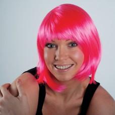 Pink Bobbed Wig