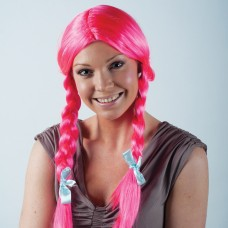 GNO WIG SCHOOL GIRL PINK