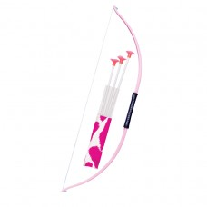 PP BOW & ARROW PINK AND WHITE