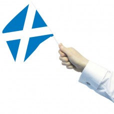 PPP SCOT WAVING FLAGS 15x22cm