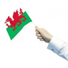 PPP WALES WAVING FLAGS 15x22cm