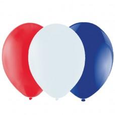 PPP FRAN Balloon RWB 23cm 20's