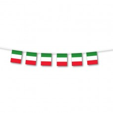 PPP ITALY Bunting Flag Sml 3m