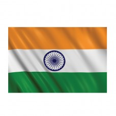 PPP INDIA Flag 5ft x 3ft