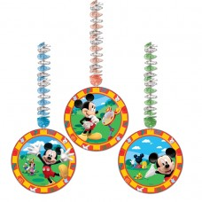 Mickey Mouse Dangling Cutout