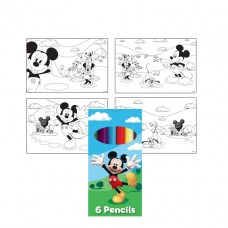 Mickey Mouse Pencils Sets