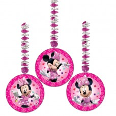 Minnie Mouse Dangling Cutouts