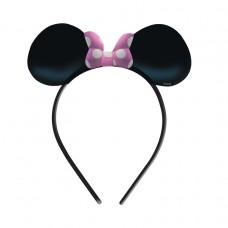 Minnie Mouse Ears & Bow