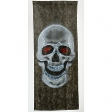 Skull Fabric Curtain