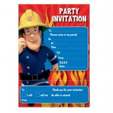 FIREMAN SAM Invites & Envelope