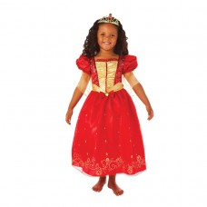 Ruby Princess Dress + Tiara M