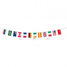 PPP Bunting Multi FABRIC 5m