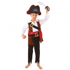 Treasure Pirate +sword + Hat 3-5yrs
