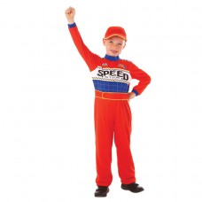 Speed Racing Driver Costume 3-5 yrs
