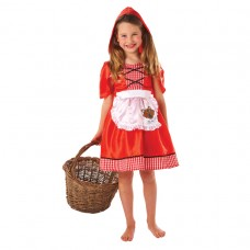 Red Riding Hood Costume 6-8 yrs