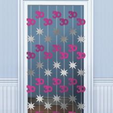 DOOR DANGLERS:PINK SHIM 30