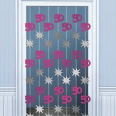 DOOR DANGLERS:PINK SHIM 50