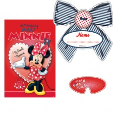 Minnie Mouse Party Game (Red)