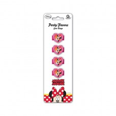 Minnie Mouse 4 Gem Rings (Red)