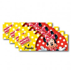 Minnie Mouse Pencil Set (Red)