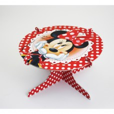 Minnie Mouse Cake Stand (Red)