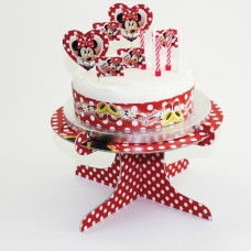 Minnie Mouse CakeDec Kit (Red)