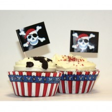 Party Pirate 48pcs Cupcake kit