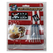 Party Pirate Cake Decorate Kit