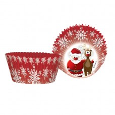 Christmas Cupcake Cases 50's