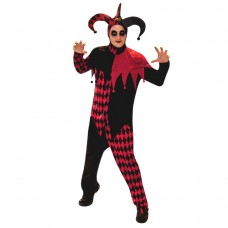 Deranged Jester Adult Costume