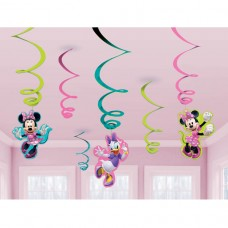 Minnie Pink Hanging Swirls 6