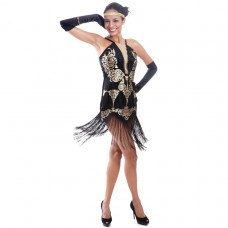 Flirty Flapper Adult Costume size L
