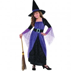 Pretty Potion Witch Child Costume size M