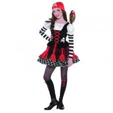 Crossbone Cutie Child Costume size L