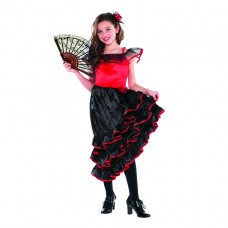 Spanish Dancer Child Costume size M