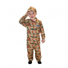 Camo Army Child M 6-8 Yrs