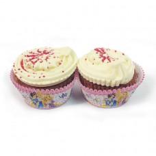 Princess 50 Cup Cake Cases