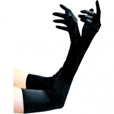 Satin Elbow Length Gloves