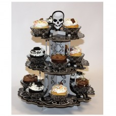 Fright Night 3 Tier cake stand