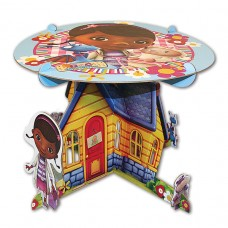 Doc Mc Cake Stand w Characters