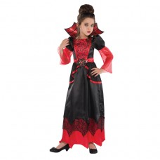 Vampire Queen Costume 6-8 years
