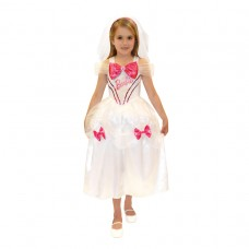 Barbie Bride Costume 3-4 years