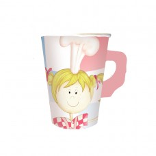 Little Cooks 8 Paper Cup with handles