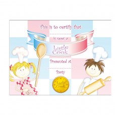 Little Cooks  Certificates-Ribbon